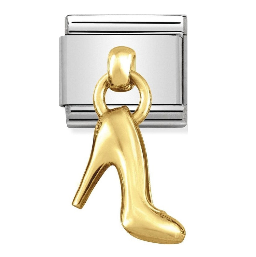 Nomination Charms 18ct Gold Shoe Charm