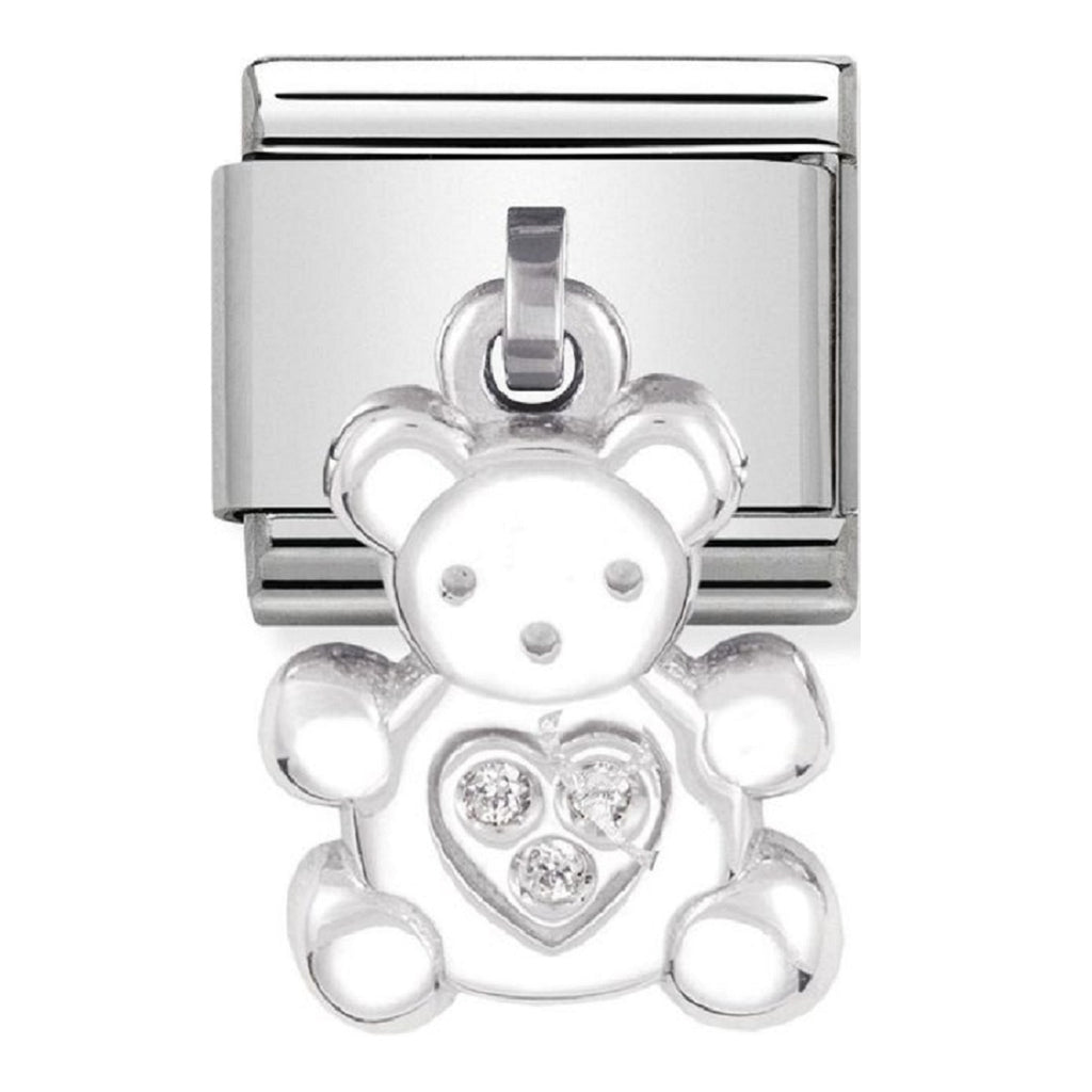 Nomination Charms Bear Pendants