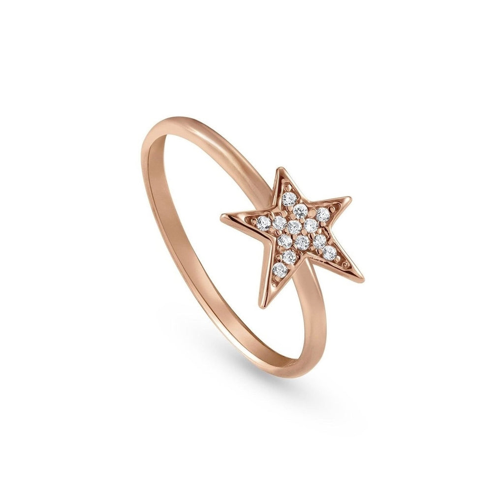 NOMINATION Ring Rose Gold and CZ Star