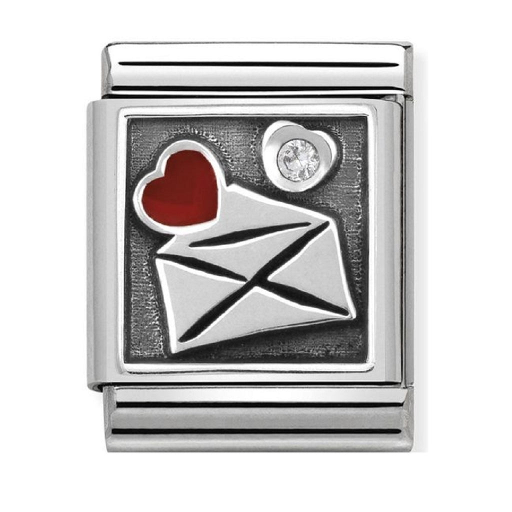 Nomination Charms Big Envelope with Heart  332308-02