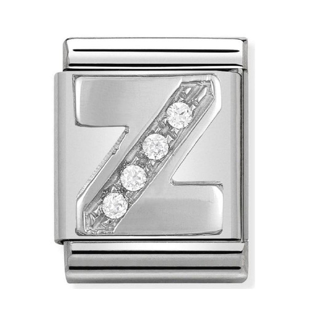 Nomination Big Charms Silver CZ Letter Z 332301-26