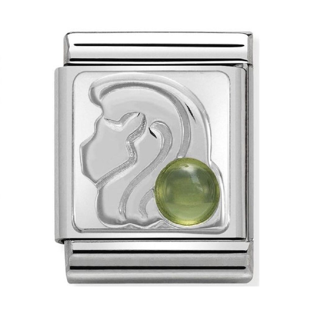 Nomination Charms Zodiac Leo with Peridot