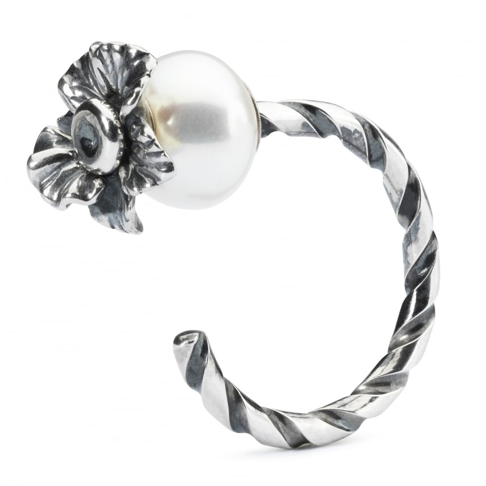 Trollbeads Twisted Silver Ring of Change Size 53-54