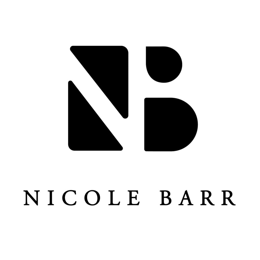 Nicole Barr Rose Gold Plated Sterling Silver White Heart Necklace White Sapphire