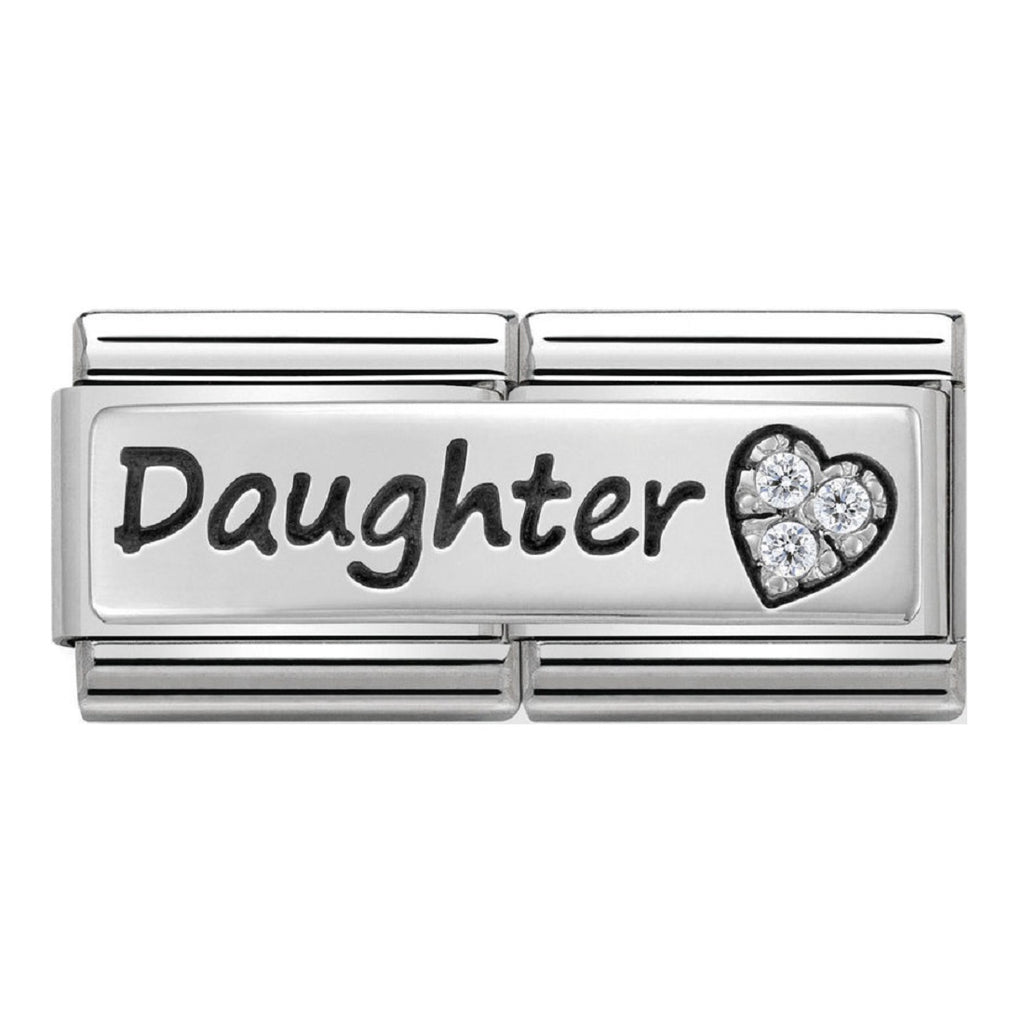 Nomination Double Link Silver Daughter