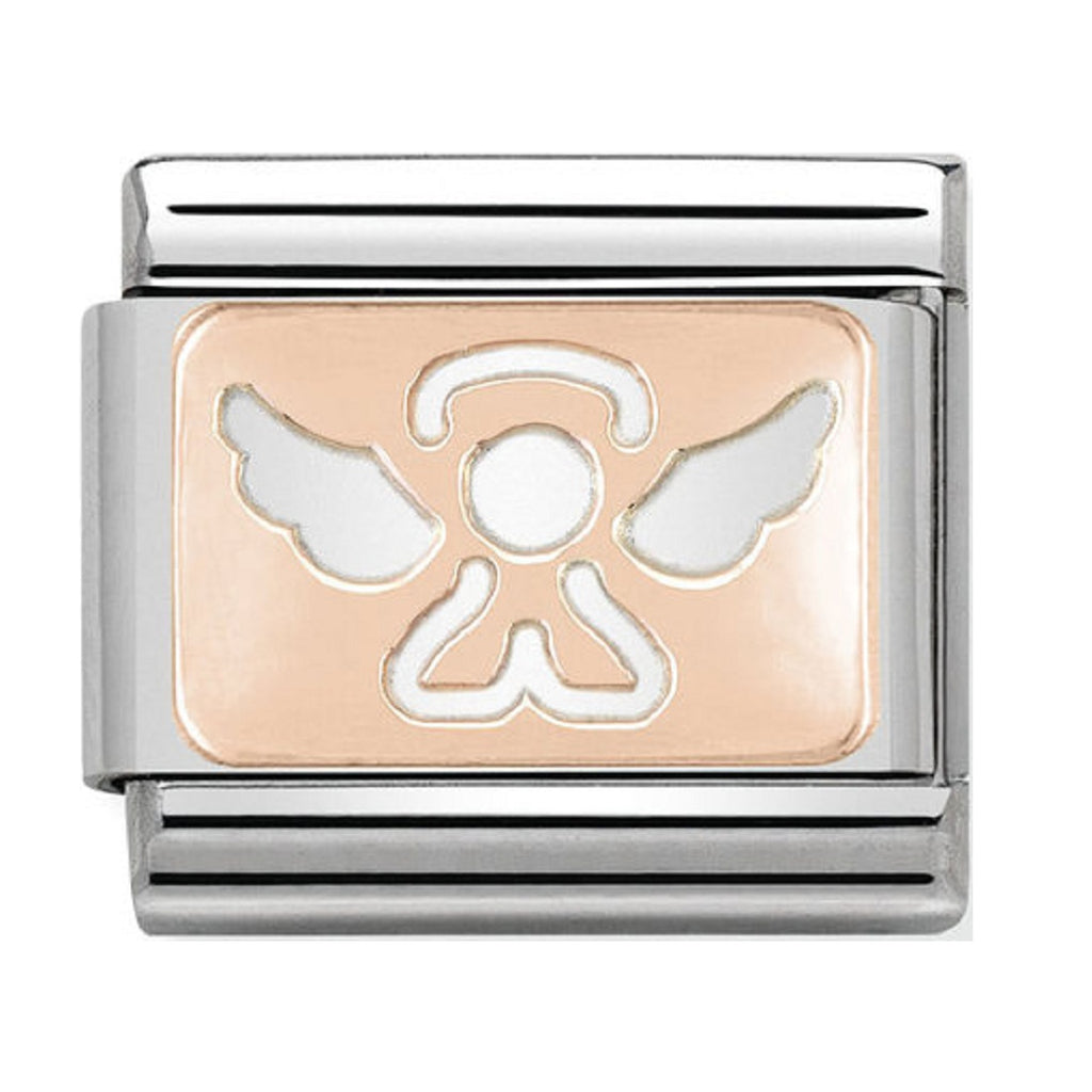 Nomination Charms Rose Gold Angel