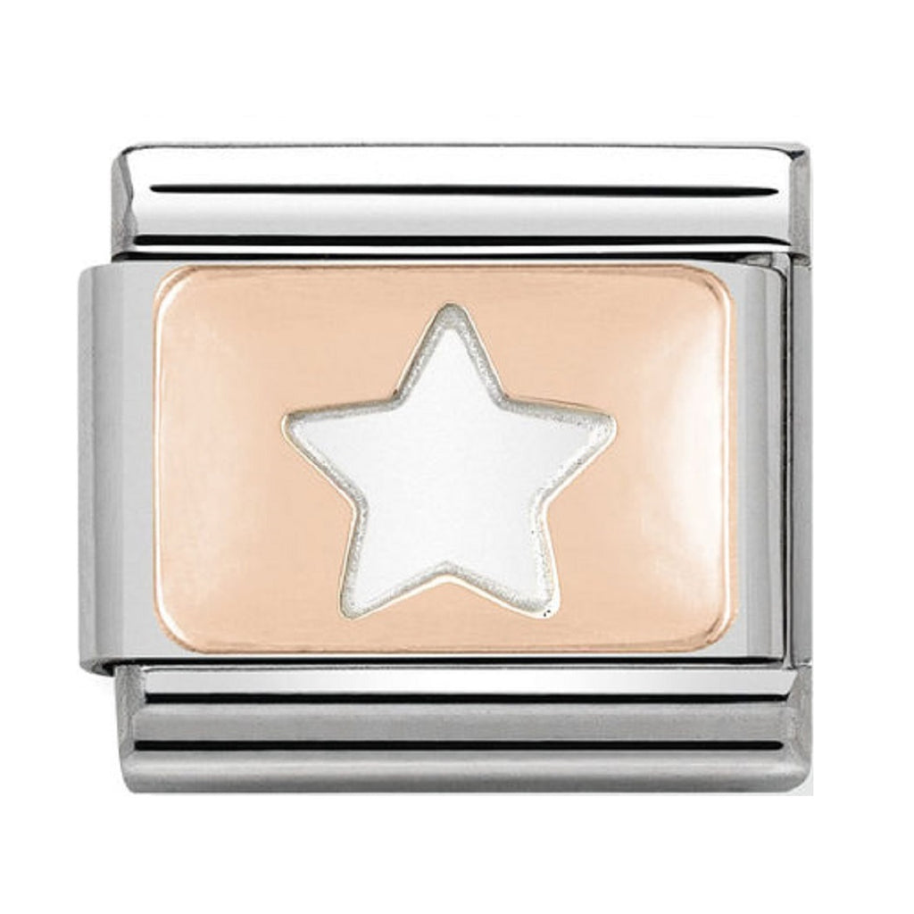 Nomination Charms Rose Gold Star
