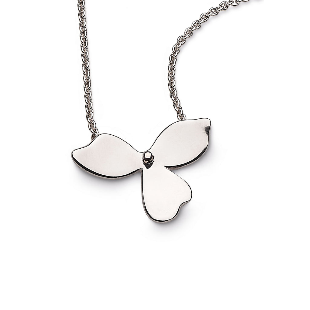 Kit Heath Silver Blossom Bloom Necklace