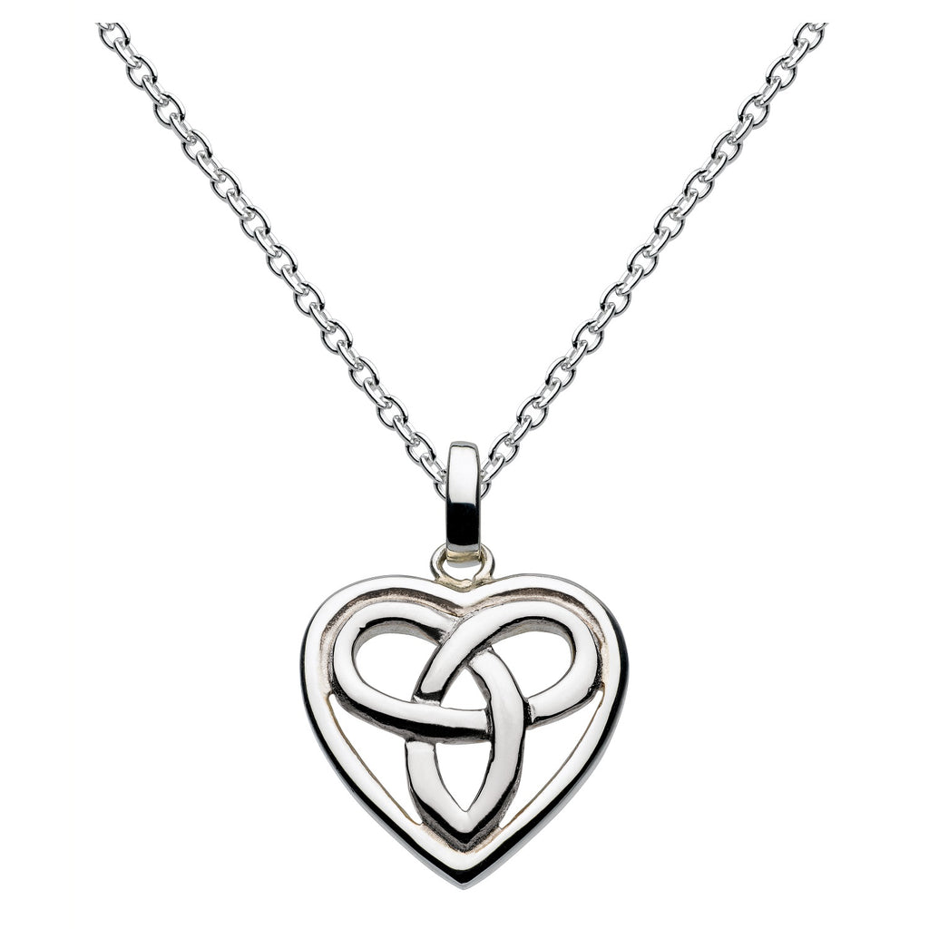 Heritage by Kit Heath Celtic Aamor Small Heart Pendant