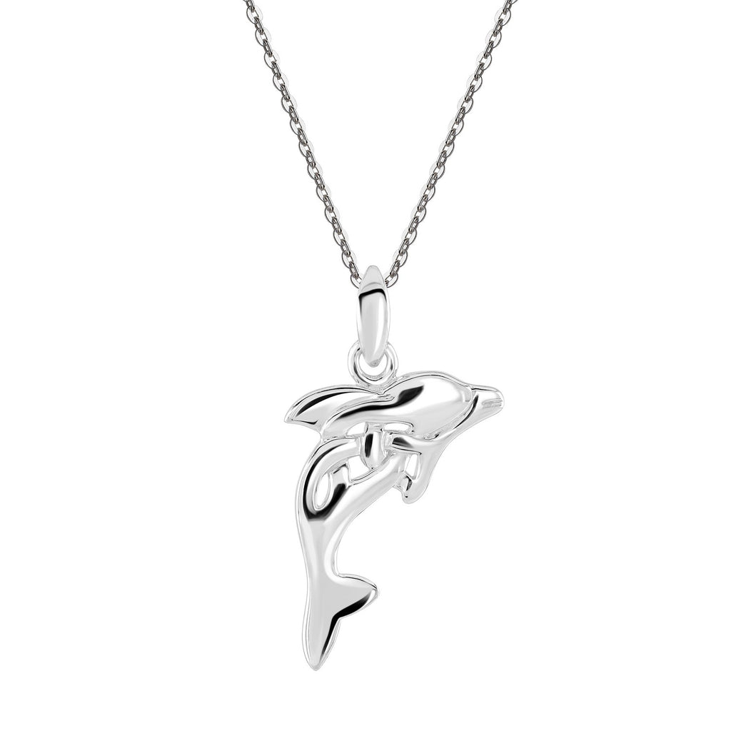 Heritage by Kit Heath Celtic Creatures Dolphin Necklace
