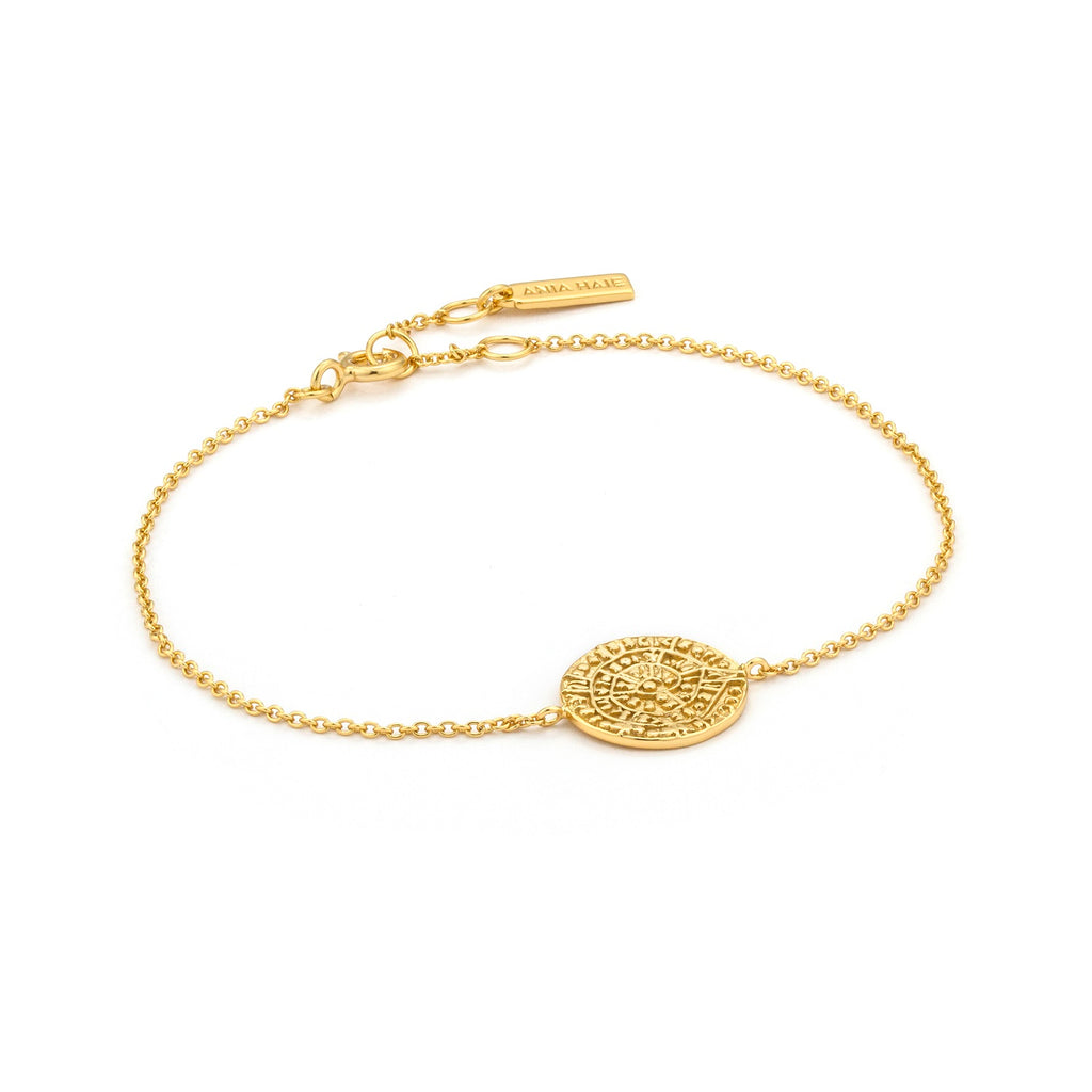 Ania Haie Ancient Minoan Bracelet Gold Plated