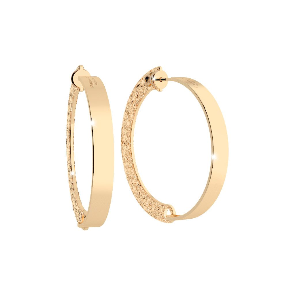 Rebecca Gold Plated Iconic Earrings