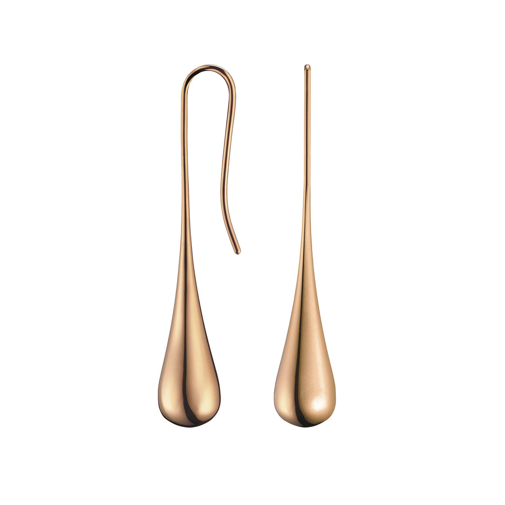 Calvin Klein Ellipse Pink Gold Earrings