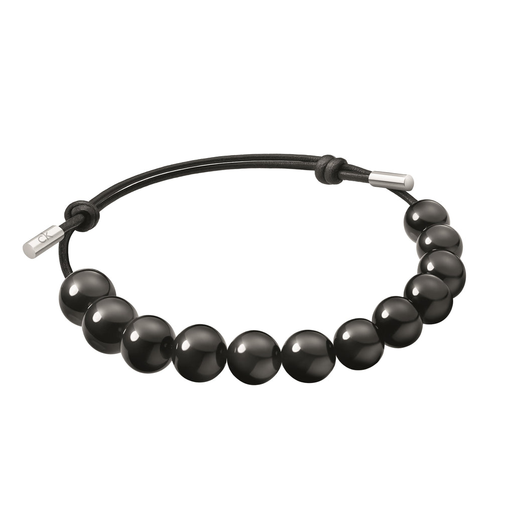Calvin Klein Men Soulful Black Bracelet