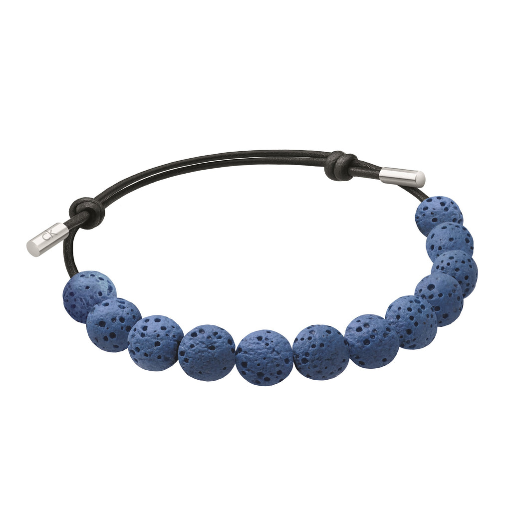 Calvin Klein Men Soulful Rock Blue Bracelet