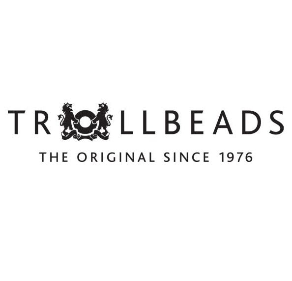 Trollbeads Charms Glass Trace Gold