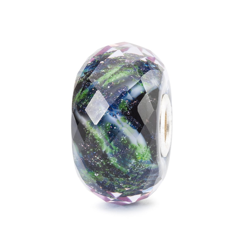 Trollbeads Charms Glass Northern Lights Magic Facetted