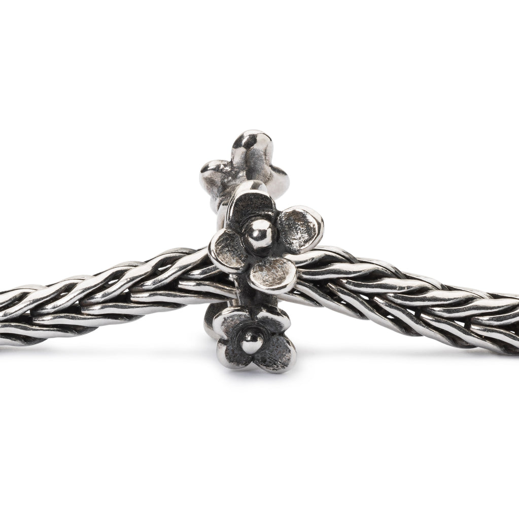 Trollbeads Charms Silver Flower Wreath