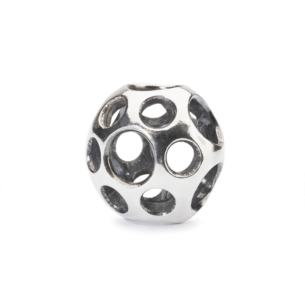Trollbeads Silver Charm Puddles