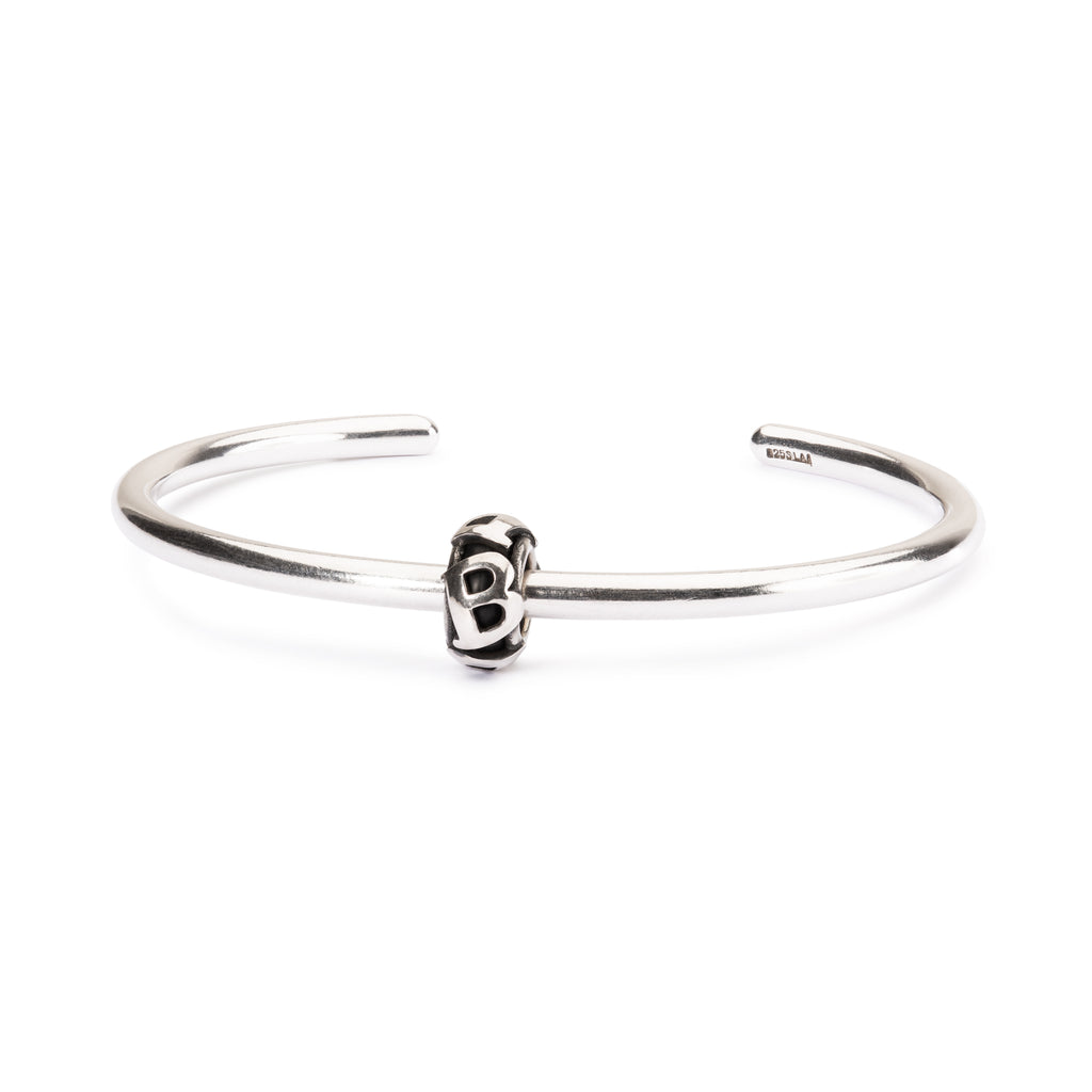 Trollbeads Silver B Spacer