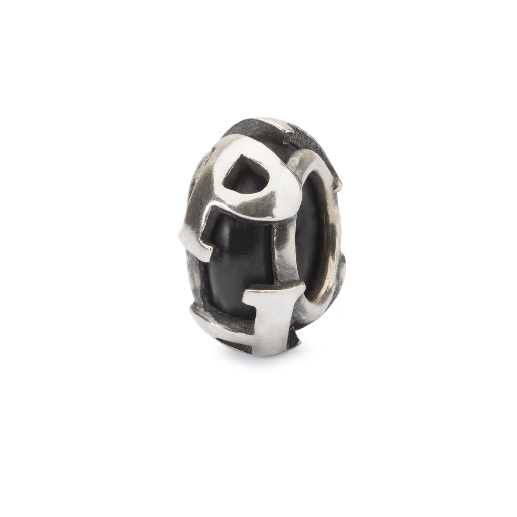 Trollbeads Silver P Spacer