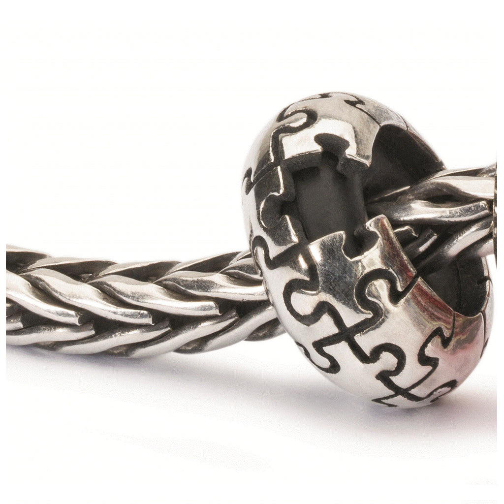 Trollbeads Silver Puzzle Spacer