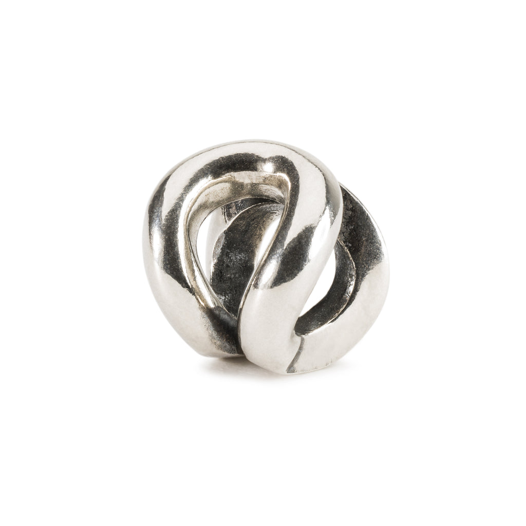 Trollbeads Charm Silver Humble Knot