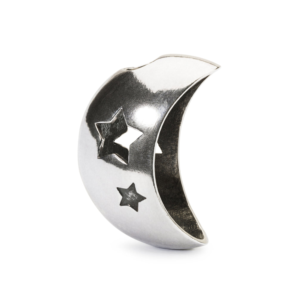 Trollbeads Charms Silver Moon and Stars Pendant