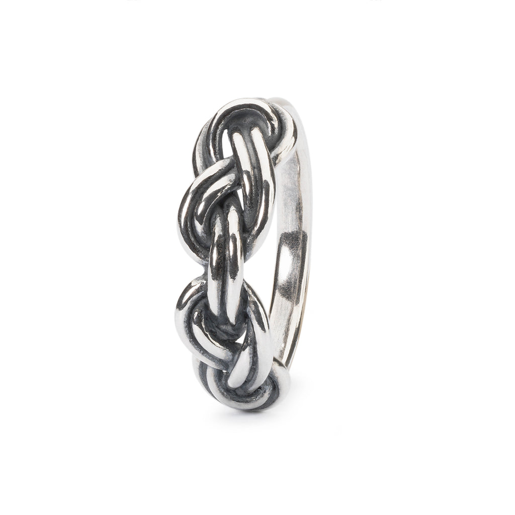 Trollbeads Silver Savoy Knot Ring
