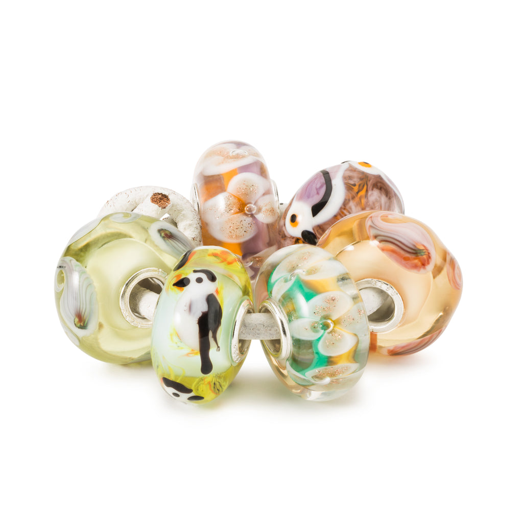 Trollbeads Charms Glass Love Song Kit