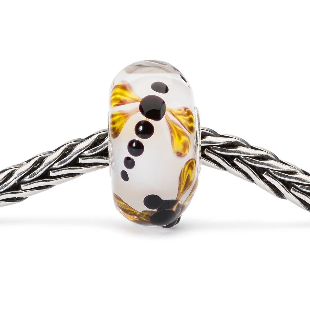 Trollbeads Charm Glass Dragonfly on Silk