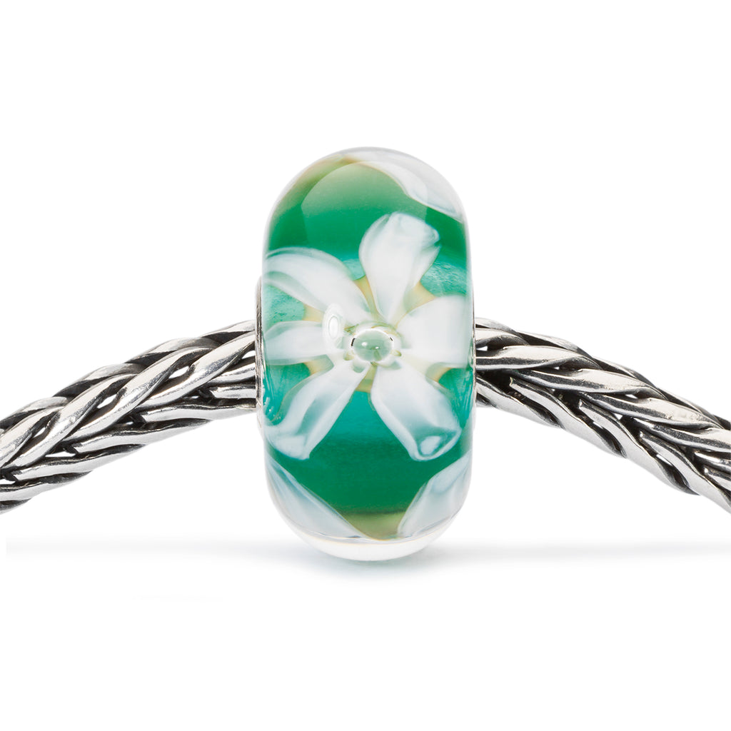 Trollbeads Charm Glass Flowers of Hope