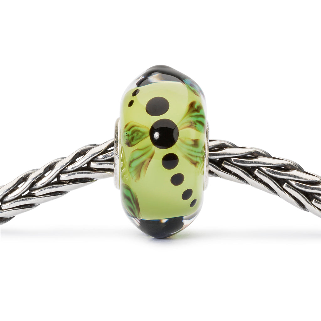 Trollbeads Charm Glass Dragonfly in Garden