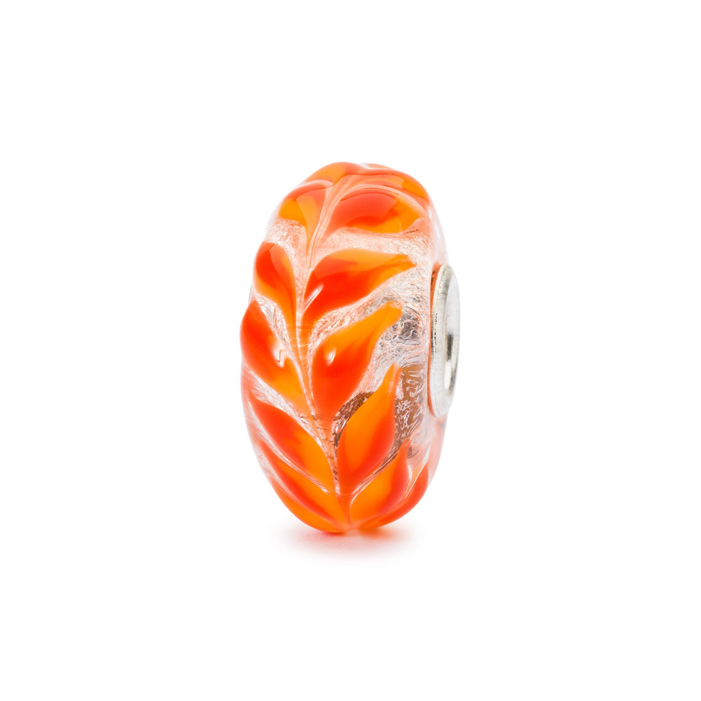 Trollbeads Charm Glass Golden Foliage