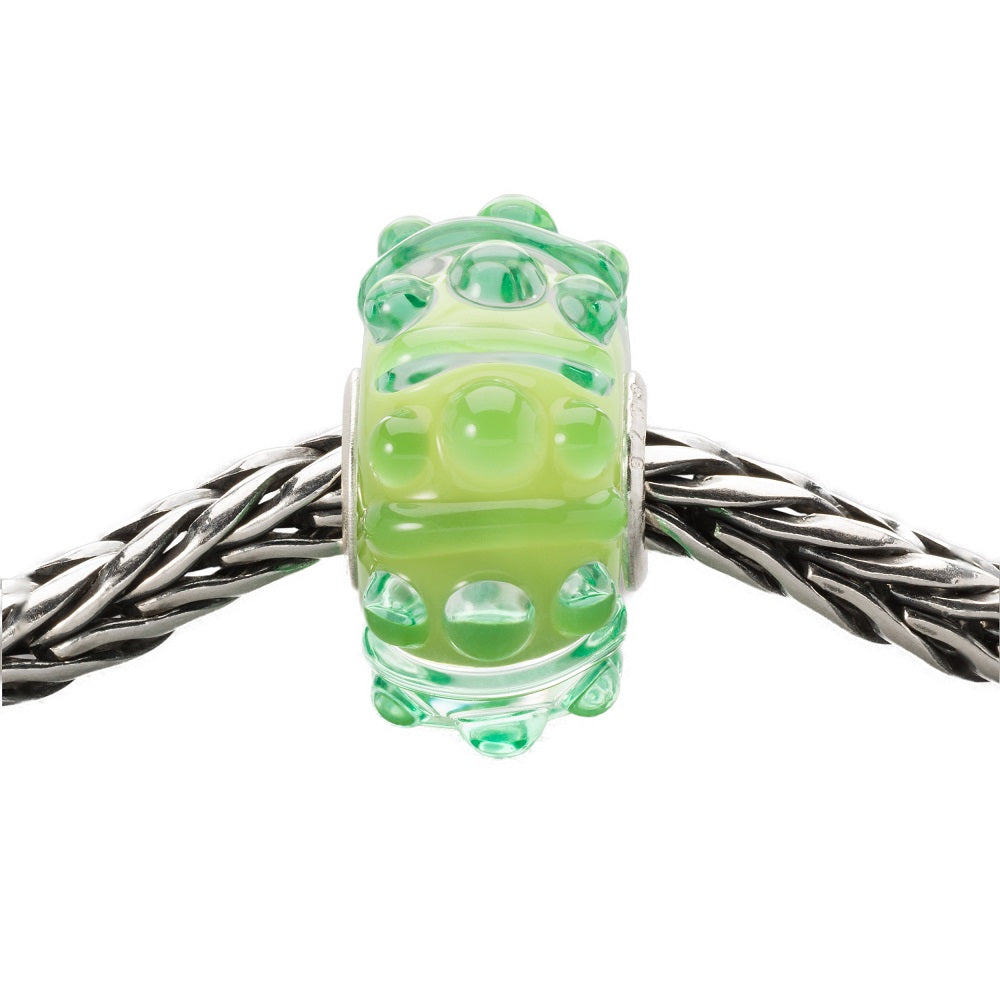 Trollbeads Charm Glass Breeze of Green