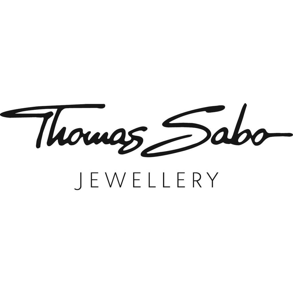 Thomas Sabo Silver Necklace Colourful mix of Forms