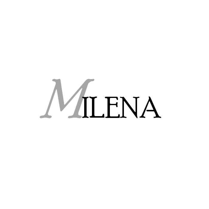 MILENA necklace Silver and multicolor Amber Elegant