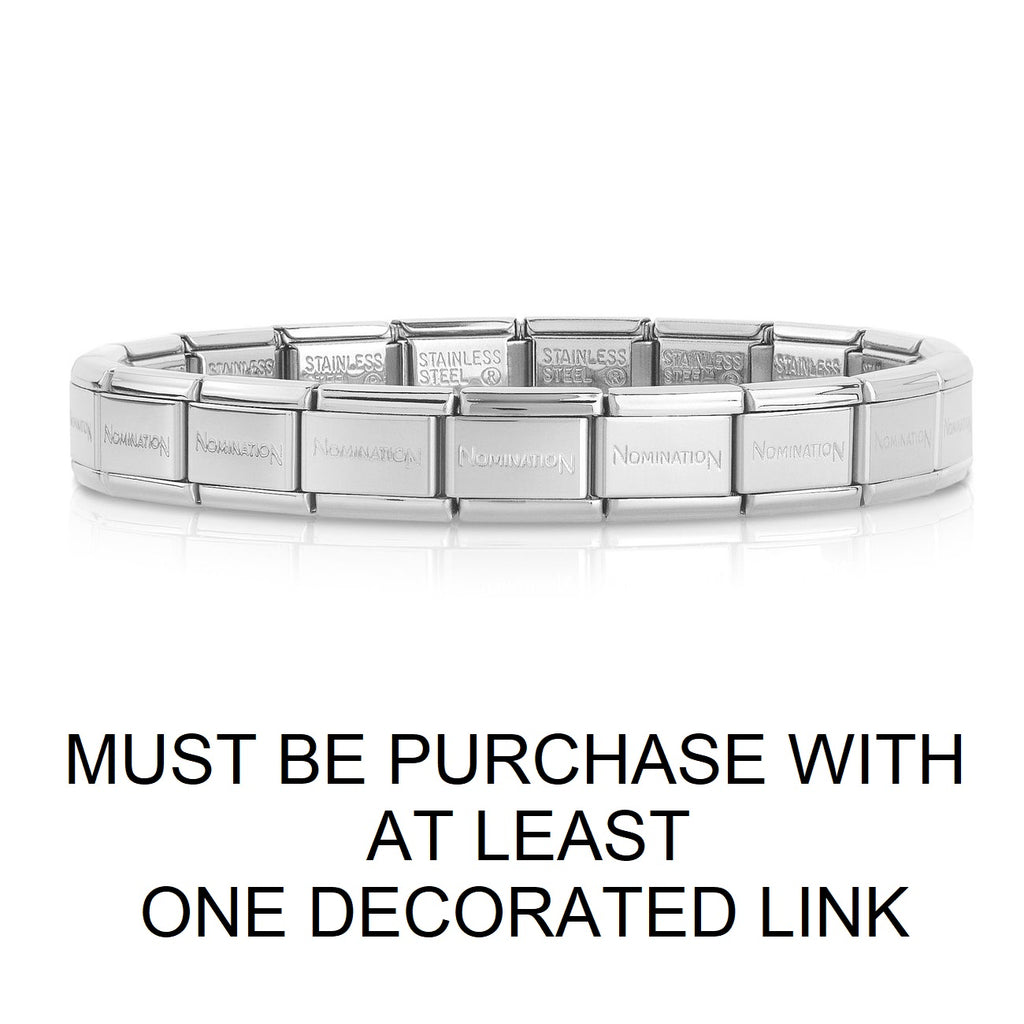 Nomination Classic Base Bracelet Only Sold When 1 or More Decorated Link Are Purchased Per Bracelet