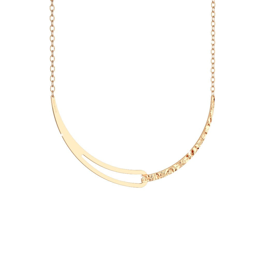 Rebecca Gold Plated Iconic Necklace