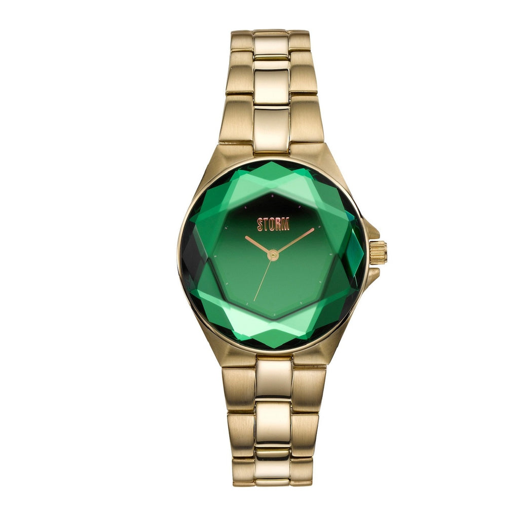 STORM Watches Crystana Gold Green