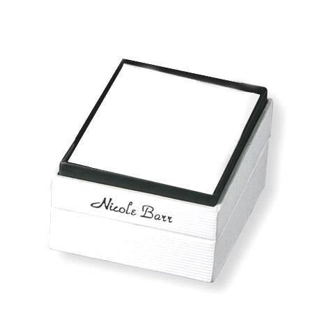 Nicole Barr Ring Silver and Pearl Flower