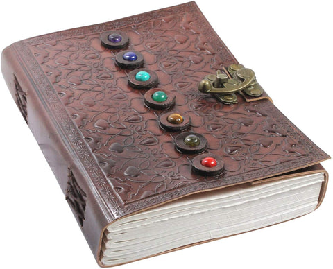 Our Daily Pick for Must Have Items-Chakra Stone Book of Shadows