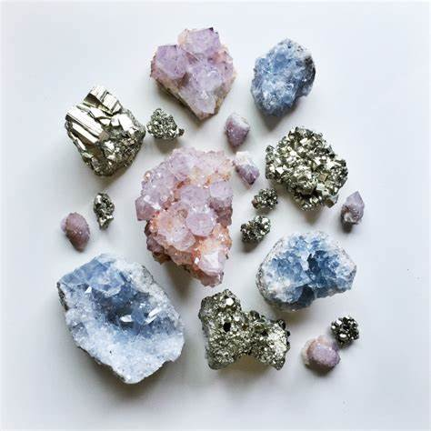 Gemstones, Crystals, and Geodes