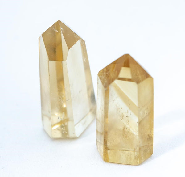 Citrine carved mini tower various sizes