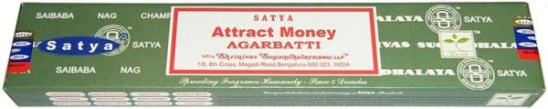 Satya Attract Money Incense 15gm Incense