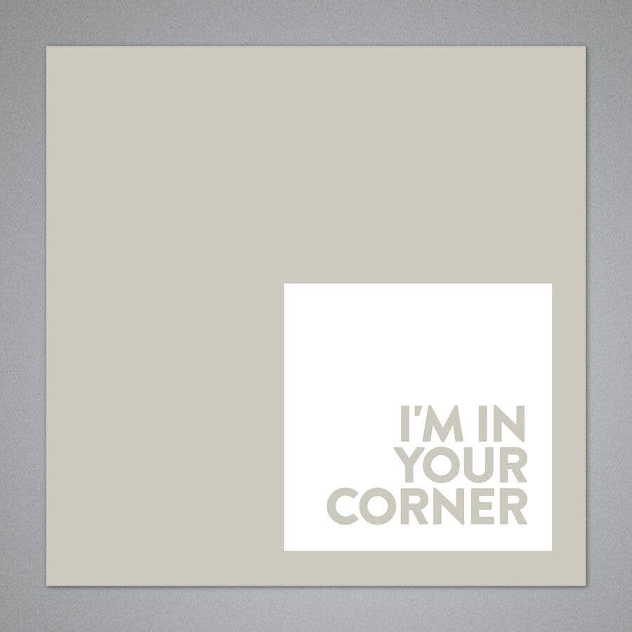 Breathless Paper Co. - I'm In Your Corner Card
