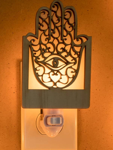 Curious Customs - Hamsa Nightlights