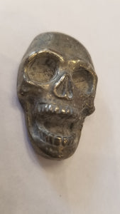 Hematite Carved  Skull 2 inch tall