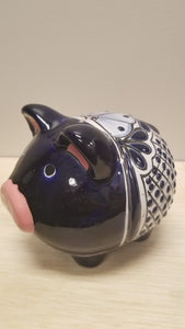 Glazed Terracotta Piggy Bank