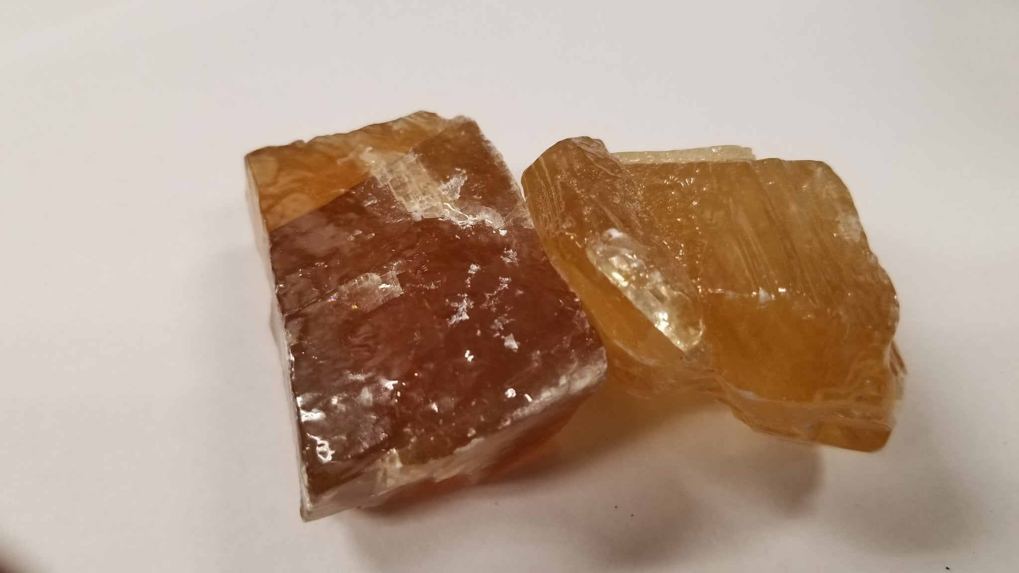 Honey Calcite Freeform Piece